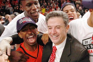 Rick Pitino and Gorgui Dieng