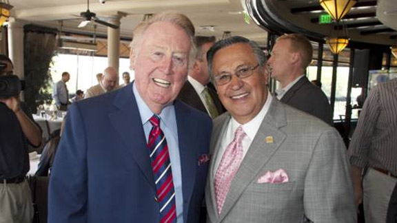 Vin Scully and Jaime Jarrin