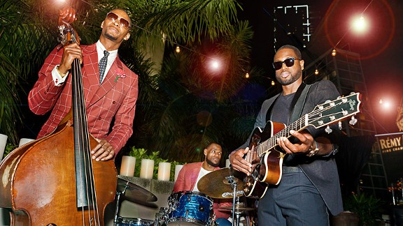 LeBron James, Chris Bosh & Dwyane Wade