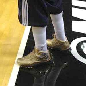 Jason Terry Gold Shoes