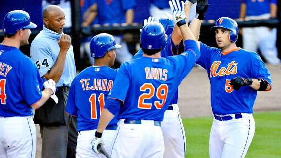 Wright hits grand slam, Pelfrey has best outing of spring for Mets in 9-1 win ...