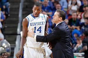 Michael Kidd-Gilchrist and John Calipari