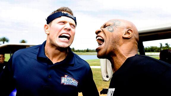 Miz and Mike Tyson