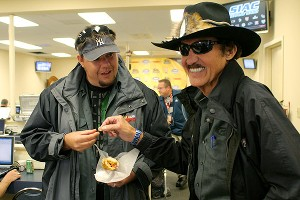 Matt Dillner and Richard Petty