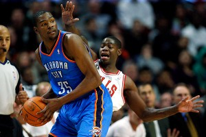 Kevin Durant, Ronnie Brewer