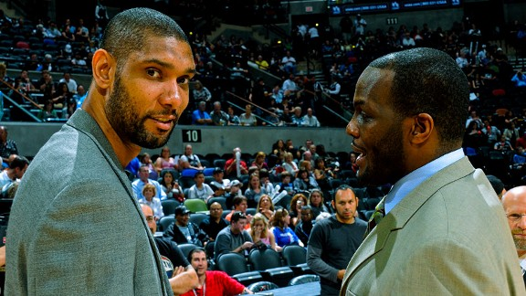 Tim Duncan, Malik Rose