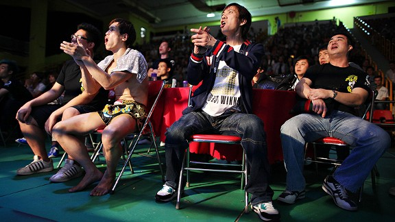 Chinese Fight Fans