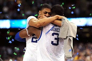 Anthony Davis and Terrence Jones