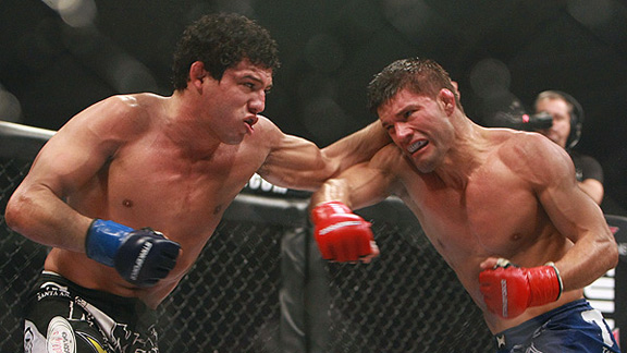 Gilbert Melendez and Josh Thomson
