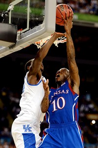 Kansas' Tyshawn Taylor