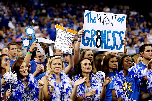 Rupp Arena Rafters Getting Painted Blue: College Basketball -- College Basketball Couldn't Match