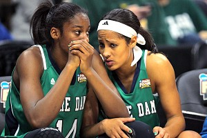Devereaux Peters and Skylar Diggins