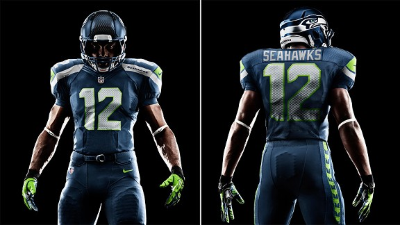 ca208307868 Seahawks aside, Nike unveiling reveals only small changes to most NFL  uniforms - ESPN