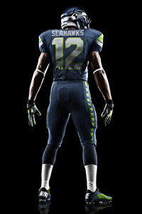 2012 Seattle Seahawks Nike uniform