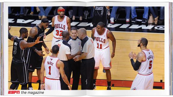 NBA Referees confer