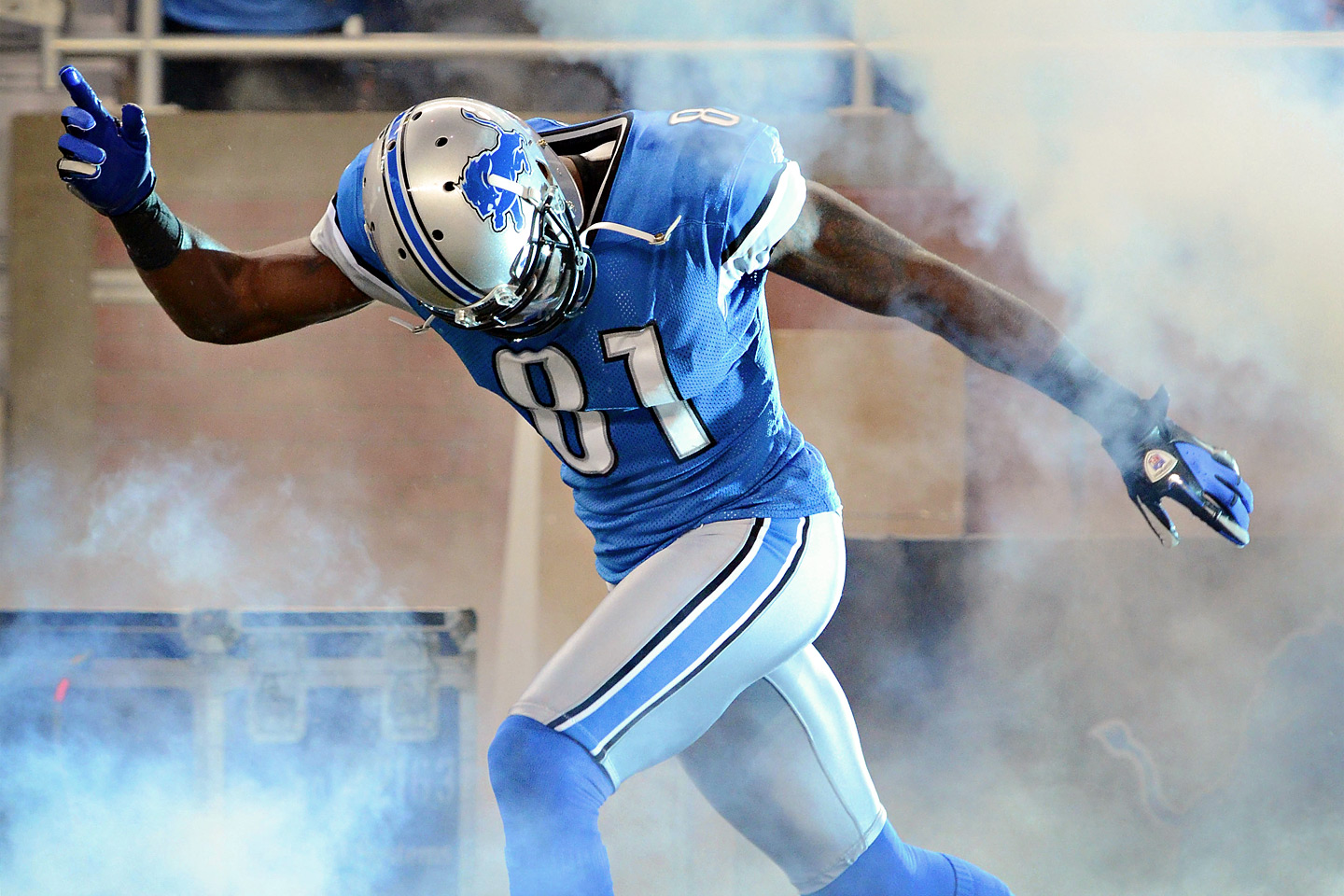 Detroit wide receiver Calvin Johnson