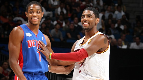Brandon Knight, Kyrie Irving