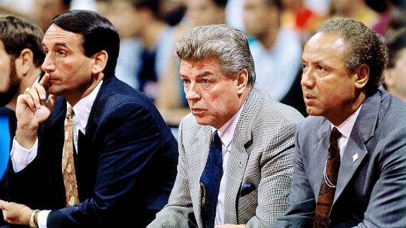 Chuck Daly and Lenny Wilkins