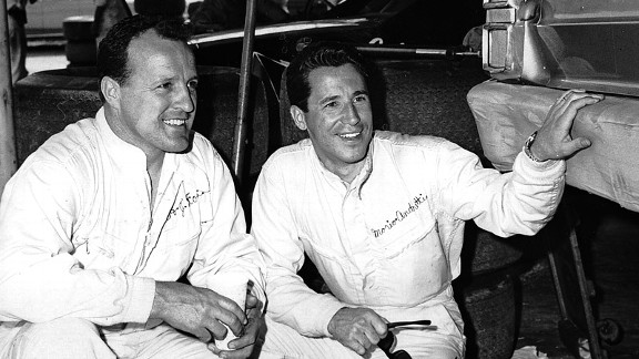 A.J. Foyt and Mario Andretti