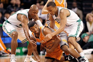Ray Allen and Avery Bradley