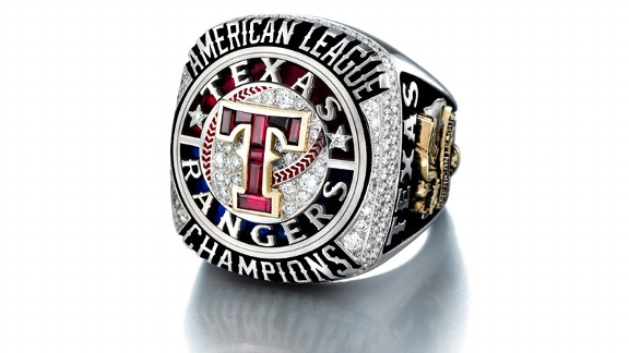 Rangers AL Champ Ring