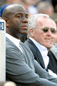 Magic Johnson, Frank McCourt