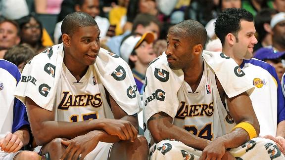 Andrew Bynum, Kobe Bryant