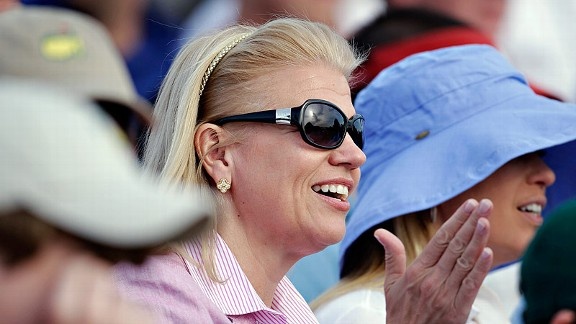 Despite the uncertainty surrounding her possible membership at Augusta National, IBM CEO Virginia Rometty was at the club Sunday watching the Masters' final round.