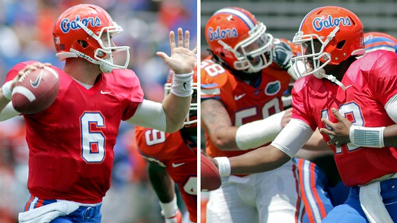 Jeff Driskel and Jacoby Brissett
