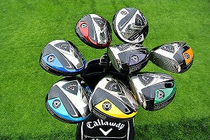 Callaway's new custom-colored drivers.