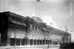 Fenway Park ball grounds exterior, 1910-1915.