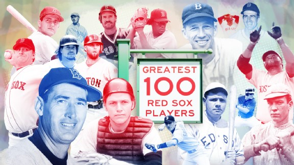 Greatest 100 Red Sox Players