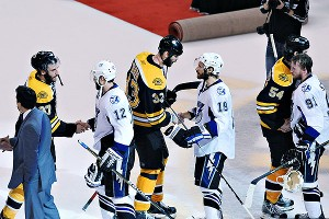 Bruins Handshake