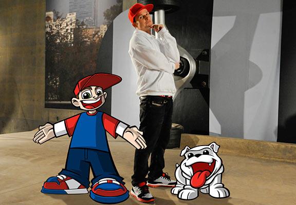 Chanel West Coast Wild Grinder ~ Rob dyrdek creates nickelodeon cartoon series page espn