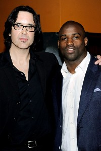 Sean Pamphilon and Ricky Williams