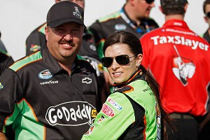 Tony Eury Jr. and Danica Patrick