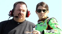 Tony Eury Jr and Danica Patrick