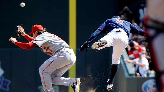 Denard Span and Scott Downs