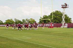 Texas A&M Practice