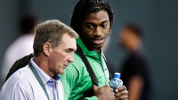 Mike Shanahan and Robert Griffin III