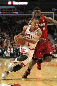 Derrick Rose, LeBron James