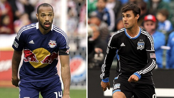 Thierry Henry, Chris Wondolowski