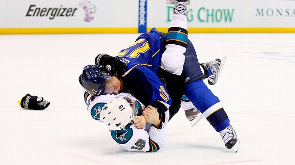 Vladimir Sobotka and Dominic Moore