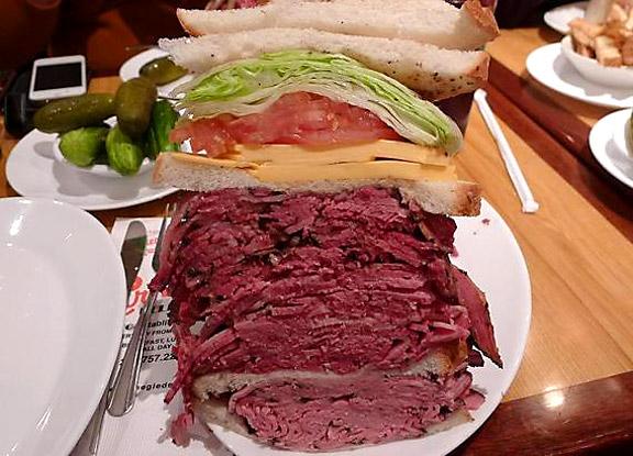 Tebow Sandwich