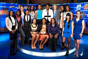 WNBA Draft Group Photo
