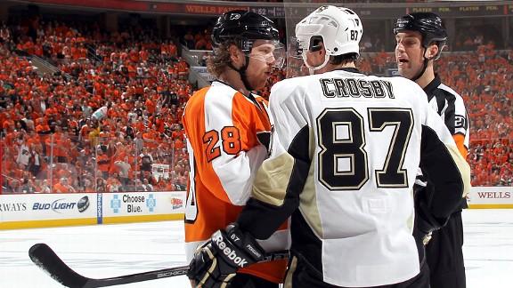 Claude Giroux, Sidney Crosby