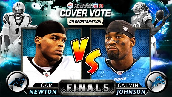 Cam Newton vs. Calvin Johnson