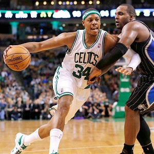 Paul Pierce and Glen Davis