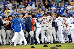 Royals vs. Indians brawl