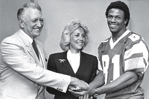 Susan T. Spencer ran the Eagles from 1983 to 1985.